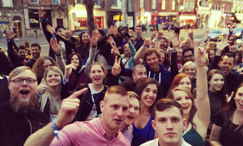 Hands up and have a good time with Dublin Pub Crawl